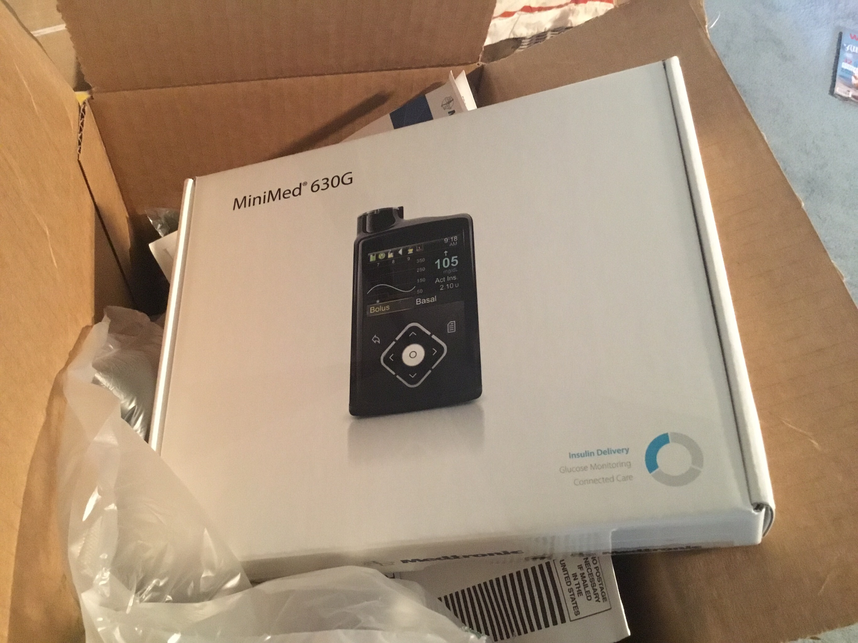 Replacement MiniMed 630G Insulin Pump