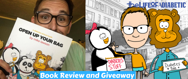 Open Up Your Bag_ A Diabetes Picture Book Review and Giveaway -featured image
