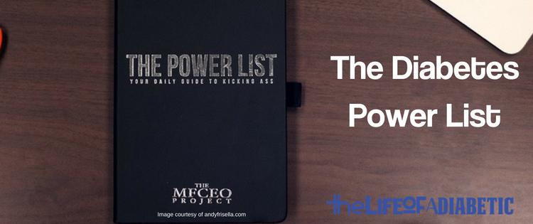 the diabetes power list