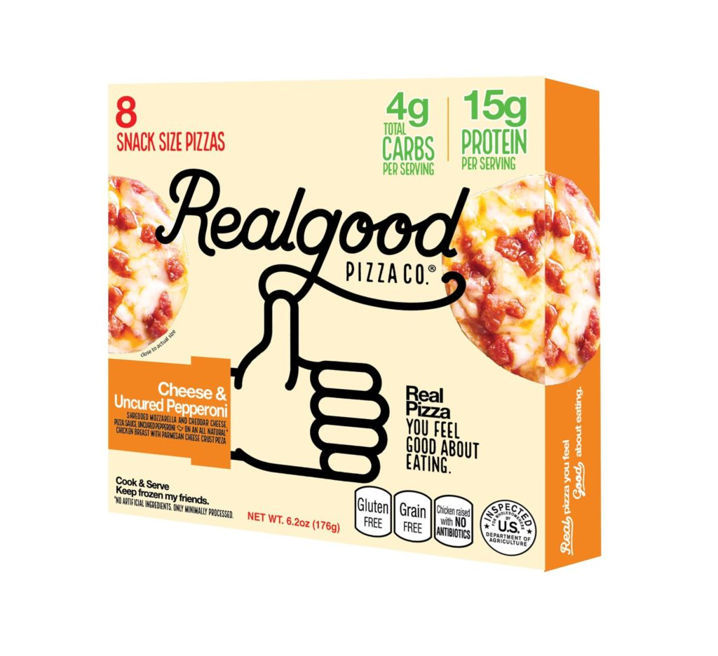 real good foods pizza snack bites pepperoni  the life of