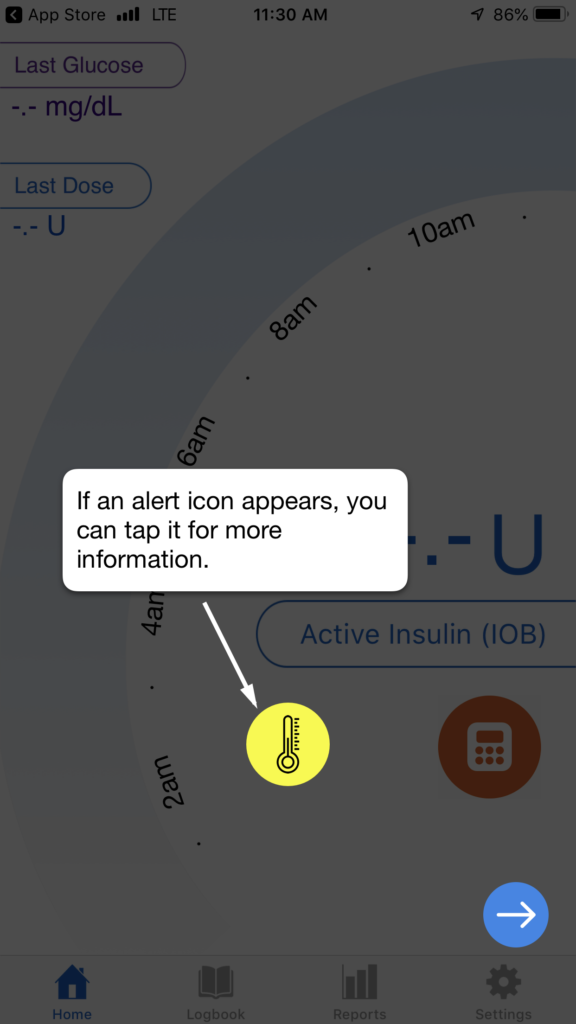 companion medical inpen - alerts