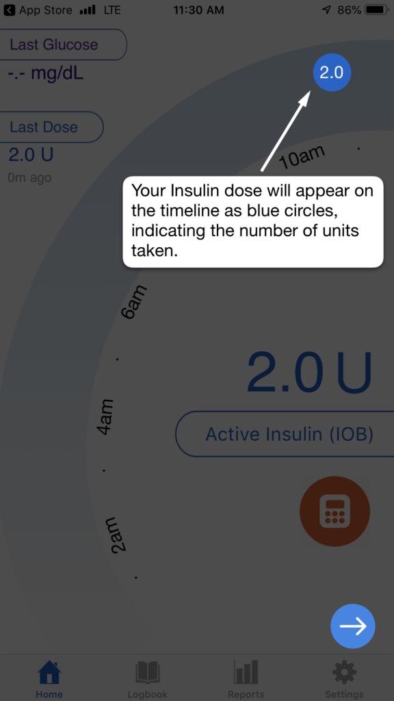 companion medical inpen - insulin dose